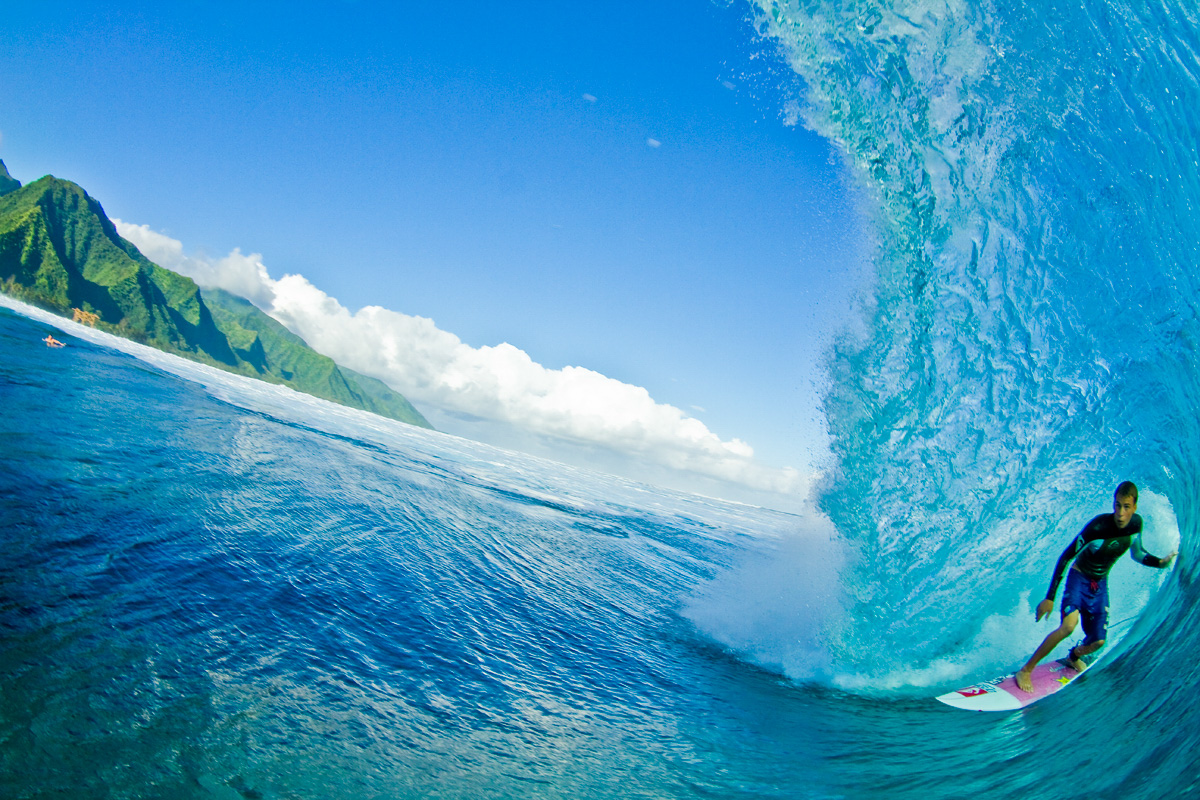 Tahiti Surf Photo