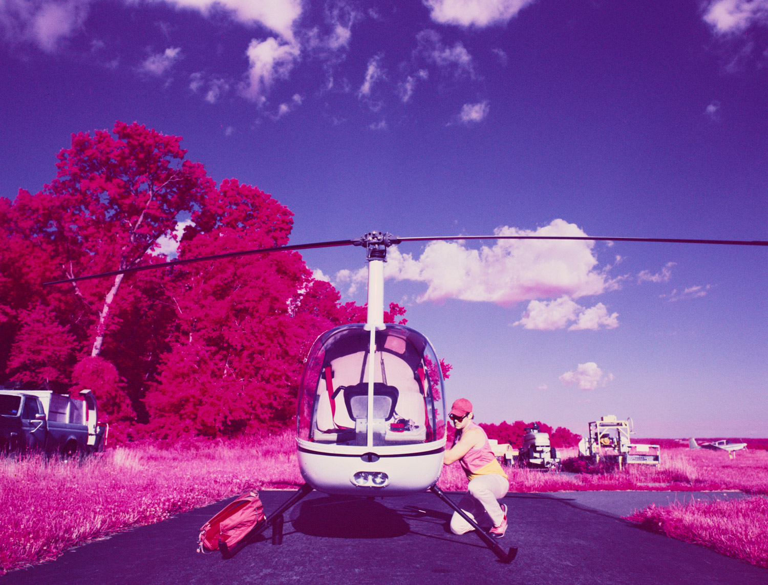 helicopter pilot infrared